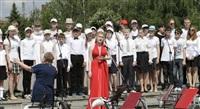 Площадь Ленина наполнили звуки хорового пения, Фото: 8