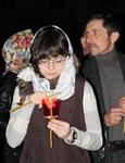 Пасхальная служба в Успенском соборе. 20.04.2014, Фото: 21
