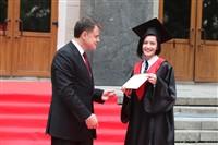 Владимир Груздев поздравил выпускников магистратуры ТулГУ, Фото: 43