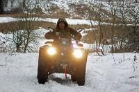 В Тульской области охотнадзор патрулирует леса на новой технике, Фото: 17