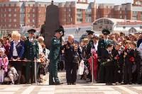 Открытие монумента и бронепоезда на Московском вокзале. 8 мая 2015 года, Фото: 35