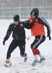 «Арсенал» готовится на снежном поле к игре против «Тосно», Фото: 20