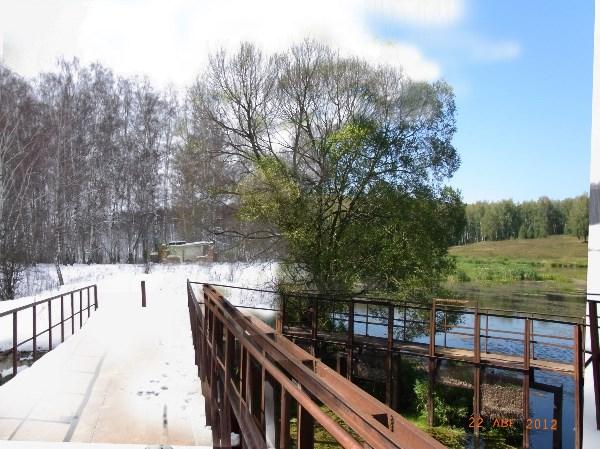 Зима-Лето в деревне.