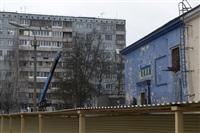 """Снос кинотеатра """"Космос"""". Тула. 14 апреля 2014 год, Фото: 12"""