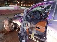 На ул. Вильямса в Туле у Volkswagen Touareg оторвало колесо, Фото: 10