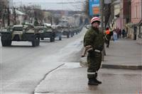 По Туле прошла колонна военной техники, Фото: 9