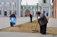 Субботник в Тульском кремле. 9 апреля 2016 года, Фото: 12