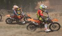 Юные мотоциклисты соревновались в мотокроссе в Новомосковске, Фото: 103