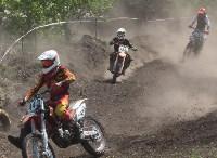 Юные мотоциклисты соревновались в мотокроссе в Новомосковске, Фото: 62
