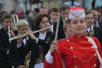 По праздничной Туле прошли духовые оркестры, Фото: 1