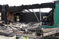 Сгоревший в Алексине дом, Фото: 21