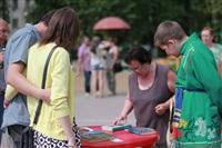 В Туле прошел флешмоб «Читающий парк», Фото: 38