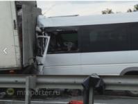 Авария с пассажирской маршруткой из Тулы под Москвой, Фото: 3