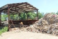 В Тульской области незаконно сжигали московский мусор, Фото: 12