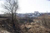 Туляк засыпал ручей, 12 колодцев и 4 канализационных люка, самовольно строя дорогу, Фото: 4
