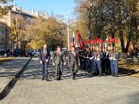 В Туле открыли памятник экипажу танка Т-34, Фото: 60