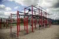 В Туле на набережной Упы открылась уникальная спортплощадка для занятий фитнесом и бодибилдингом, Фото: 1