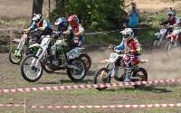 Юные мотоциклисты соревновались в мотокроссе в Новомосковске, Фото: 130
