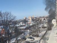 В Пролетарском районе Тулы загорелся микроавтобус, Фото: 4