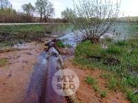 В деревне под Тулой из водопроводной трубы забили девять фонтанов, Фото: 8