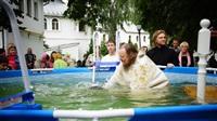 Крещение жителей Новомосковска, Фото: 11