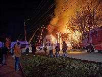 Крупный ночной пожар в Туле, Фото: 5
