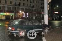 ВАЗ влетел в столб на пр. Ленина в Туле, Фото: 5