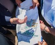 Груздев инспектирует строительство бассейна на Гоголевской. 3.08.2015, Фото: 14