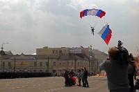 День Тульской дивизии ВДВ: на площади Ленина приземлились парашютисты, Фото: 93