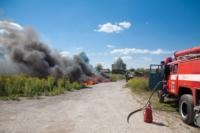 Пожар в гаражном кооперативе №17, Фото: 2