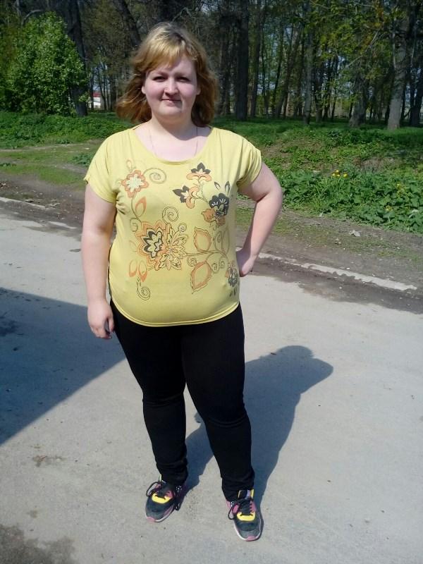 Олеся Макарова, 23 года, вес 103 кг.Я всегда была пампушечкой. Перепробовала много диет, но вес всегда возвращался, да ещё и с плюсом. Мне нужна помощь! Без вашего проекта у меня ничего не получится.