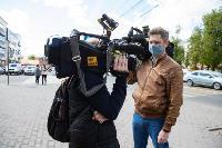 Полицейский рейд в тульских маршрутках: на пассажиров без масок составляют протоколы, Фото: 2