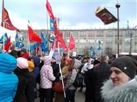 В Туле проходит митинг в поддержку Крыма, Фото: 2