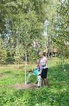 В Пролетарском районе высадили молодые деревья, Фото: 3
