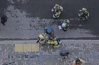 Тульские пожарные провели соревнования по бегу на 22-этаж, Фото: 6