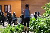 В Плеханово начали сносить дома в цыганском таборе, Фото: 109