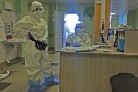 Репортаж из «красной зоны»: как устроен коронавирусный госпиталь в Туле, Фото: 7