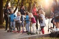 Туляки «погоняли» на самокатах в Центральном парке, Фото: 12