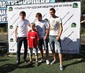 Игроки «Арсенала» награждают победителей Летнего Кубка ТГФФ., Фото: 50