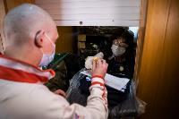 Экспресс-тест на covid-19, маски и социальная дистанция: В Туле первых призывников отправили в армию, Фото: 28