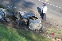 В жутком ДТП на М2 под Тулой сгорели три авто: двое погибли, Фото: 3