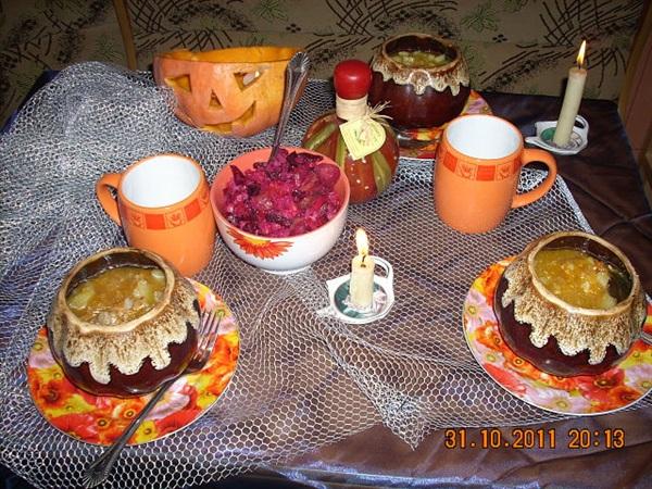 Оранжевое настроение Хеллоуина :-)  (31.10.2011 г)