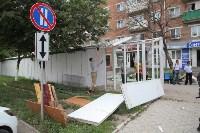 Ликвидация торговых рядов на улице Фрунзе, Фото: 12