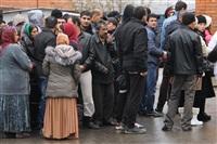 В ходе зачистки на Центральном рынке Тулы задержаны 350 человек, Фото: 19
