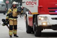 Учения МЧС: В Тульской областной больнице из-за пожара эвакуировали больных и персонал, Фото: 3