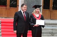 Владимир Груздев поздравил выпускников магистратуры ТулГУ, Фото: 33