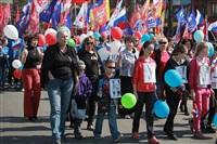 Тульская Федерация профсоюзов провела митинг и первомайское шествие. 1.05.2014, Фото: 14
