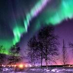 Северное сияние в России. Фото из соцсетей., Фото: 22