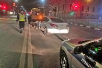 Ночью в Туле водитель легковушки врезался в реанимацию, Фото: 6