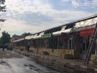 """На ул.9 Мая сгорел рынок """"Салют"""", Фото: 7"""